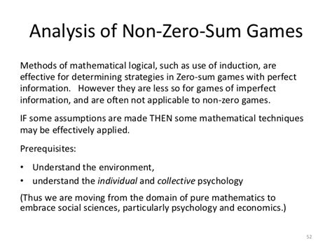 bitcoin zero sum game an introduction to game theory