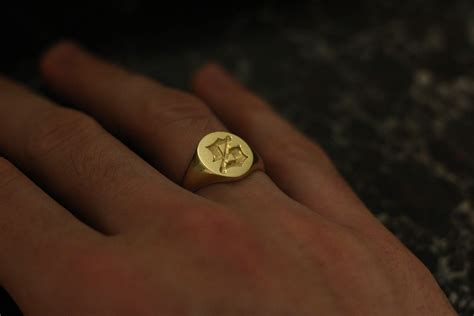 Sustainable Home Design Products by Rebus Rings Signet Ring Custom Design For Set Set Store