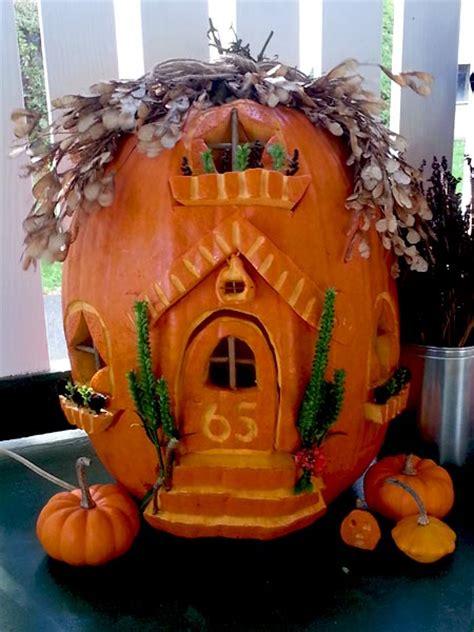 themes around halloween 2014 pumpkin carving contest winners fairy houses fairy