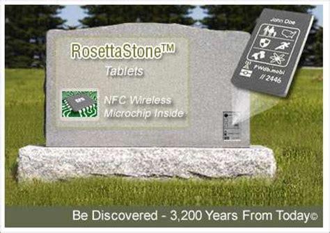 rosetta stone tablet tech savvy tombstones rosettastone tablet