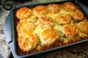 Best recipes in world ground beef amp corn casserole with biscuits