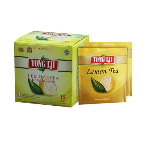 Teh Celup Tong Tji jual tong tji lemon tea teh celup with lop 2 g 15