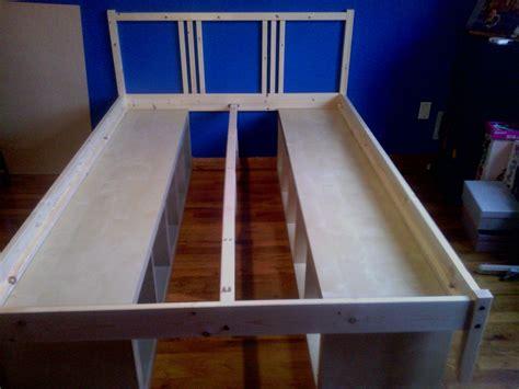 storage bed fit   full diy storage bed bed frame