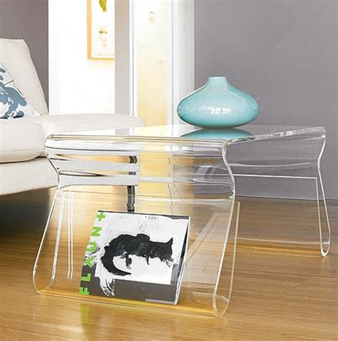 modern acrylic storage design for home interior furniture