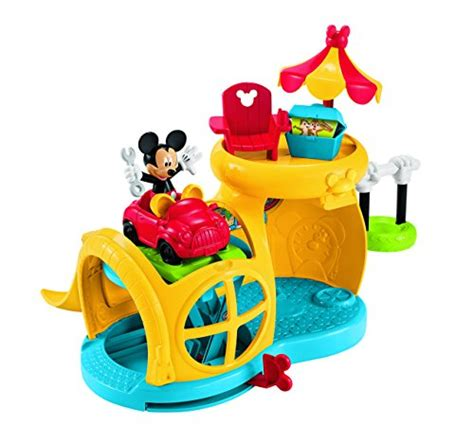 mickey mouse swing set fisher price mickey mouse clubhouse fix n fun garage toys