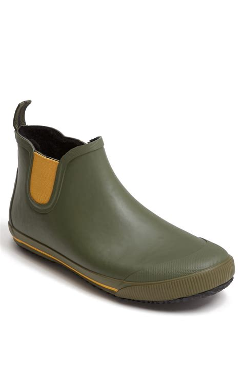 boot shoes tretorn str 229 la vinter boot in green for