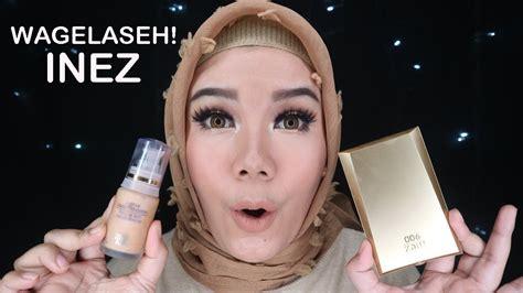tutorial makeup inez inez cosmetics one brand makeup tutorial 2 nyobain