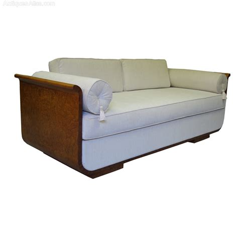 daybed as sofa art deco daybed sofa czech jindrich halabala 1930s