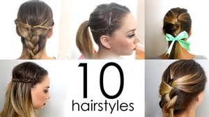Really Easy Hairstyles For Medium Hair by Quick And Easy Hairstyles For For Medium Hair