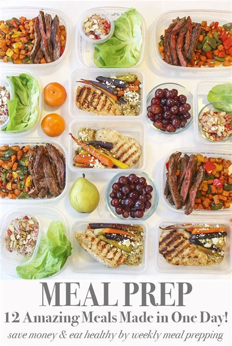 meal prep 12 meals in one day for the rest of the week i made this meal plan for hubby and i