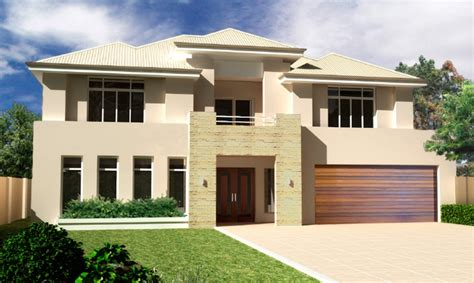 contemporary two story house designs modern two story house plans