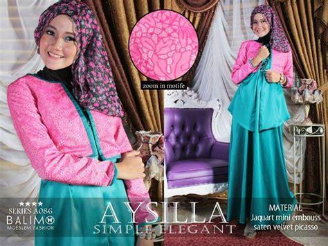 Baju Busana Muslim Gamis Amora Syari Fanta Turkhis Bl busana muslim koleksi terbaru