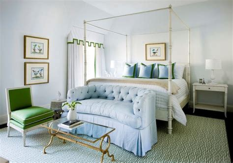 blue and green bedrooms bedroom sofa transitional bedroom melanie turner