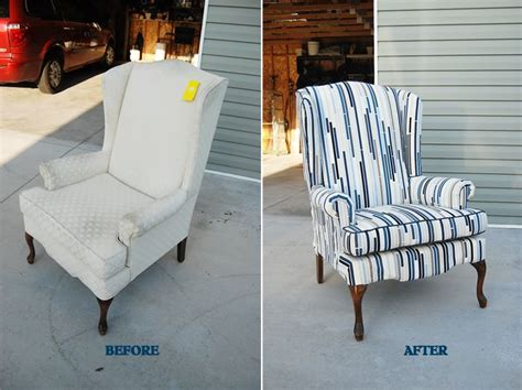 how to reupholster a wingback armchair lemonade and porch swings how to reupholster a wingback