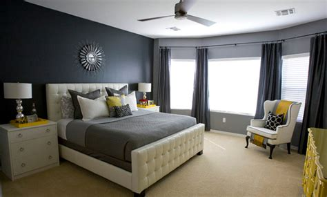 Gray And Yellow Master Bedroom Ideas by 15 Visually Pleasant Yellow And Grey Bedroom Designs