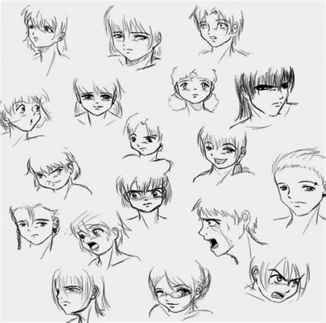 cara menggambar anime dan ekspresi wajah semangat adalah awal dari segalanya