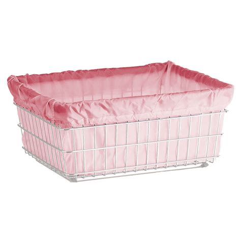 R B Wire 142 Wire Frame Metal Laundry Cart Antimicrobial Laundry Liner