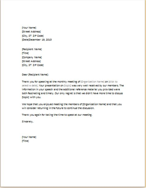 thank you letter to parents after conferences speaker thank you letter sle for conference 10