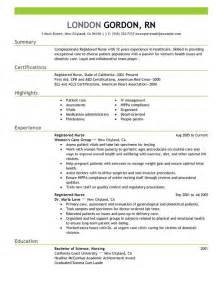 resume template for nursing nursing resume in 2016 6 tips to follow