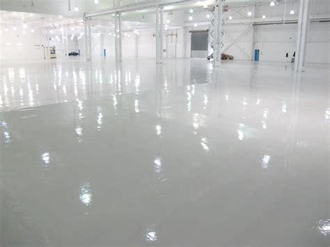 Epoxy Floor Coating Installation   YouTube