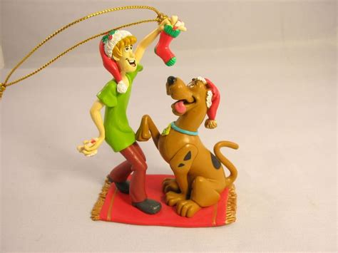 scooby doo ornaments scooby doo shaggy barbera collectors