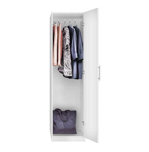 Narrow Armoire Wardrobe Alta Narrow Wardrobe Closet Right Opening Door