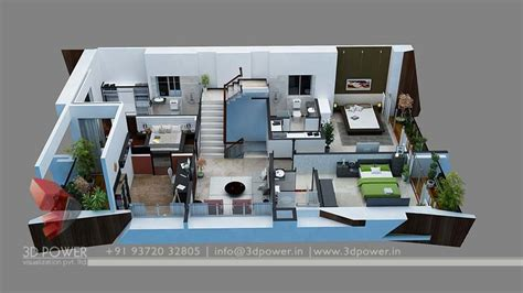 How To Draw House Floor Plans by Bunglow Design 3d Architectural Rendering Services 3d