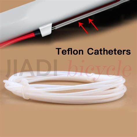 Promo Tokped Cable Teflon New mtb bike bicycle brake shifting cable wire teflon catheters cycling shift wire