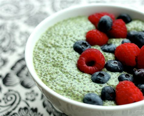 Silky Pudding Green Tea Matcha 320gr matcha green tea chia pudding the helping