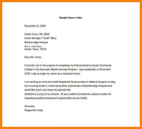 6 entry level cover letters exles precis format