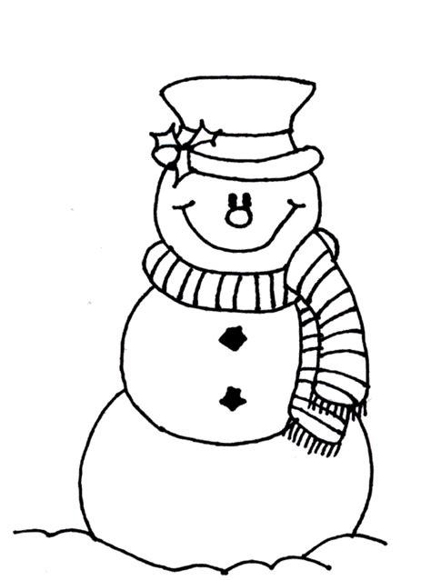 dibujos de navidad para colorear muñecos de nieve mu 241 ecos de nieve navide 241 os para colorear