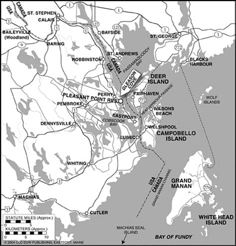 map   greater passamaquoddy bay area