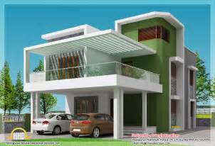 Home Design Simple Modern Home Square Feet Bedroom Contemporary Kerala