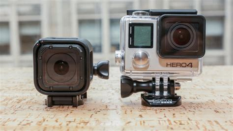 Gopro 4 Black Edition 641 by Gopro Hero4 Session Review Cnet
