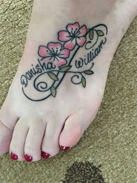 tattoo name designs on foot best 25 infinity name ideas on