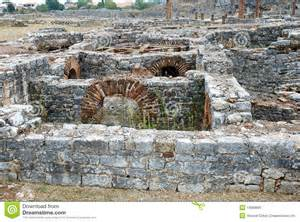 Best Site For House Plans Roman Ruins Of Conimbriga Portugal Stock Photo Image