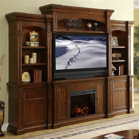 fireplace entertainment unit wall unit entertainment center with fireplace