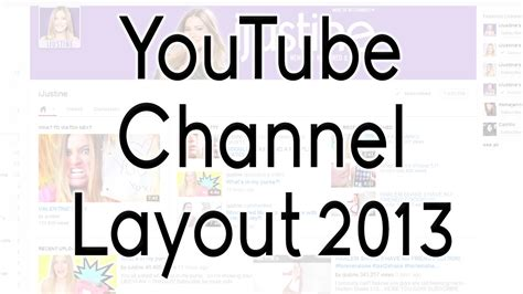 youtube channel layout tips youtube channel layout 2013 tgamentech