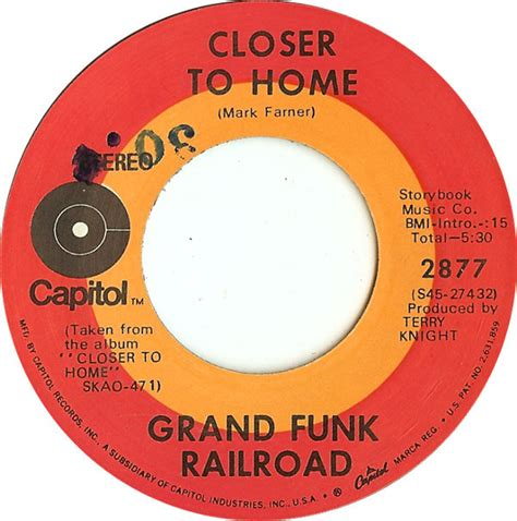 grand funk railroad closer to home at discogs