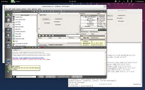 qt gui tutorial linux qt 4 8 3 gui application on linux looks old and doesn t