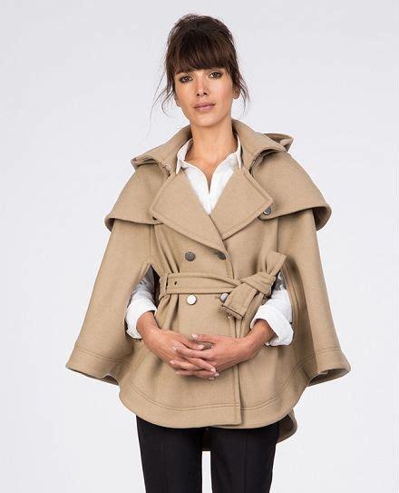 manteau cape comptoir des cotonniers trench cape blousons et manteaux comptoir des