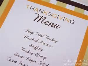 thanksgiving menu cards exploring creativity curiosity and conscious thought