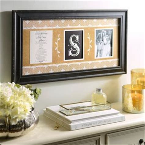 Wedding Invitations Keepsake Ideas by Monogram Wedding Invitation Collage Frame Monograms