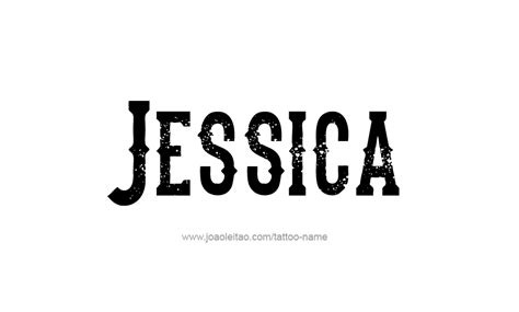 jessica name tattoo designs name haarfarbe pictures to pin on