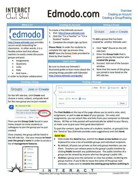 edmodo lcisd 58 best cheat sheets images on pinterest