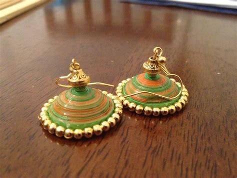 Paper Jhumka - 25 best images about quilling jewellery on