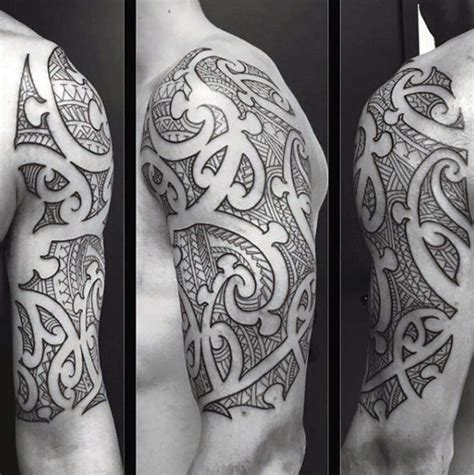negative space tribal tattoos 70 sick tribal tattoos for cool masculine design ideas