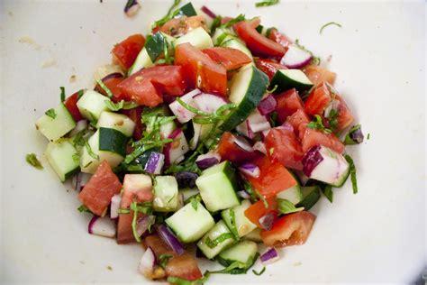 Garden Vegetable Salad Vegetable Salad