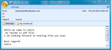 email format hello malware traffic analysis net 2015 06 04 resume malspam