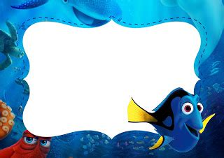 Finding Dory Free Printable Invitations Oh My Fiesta In English Finding Dory Birthday Invitations Template
